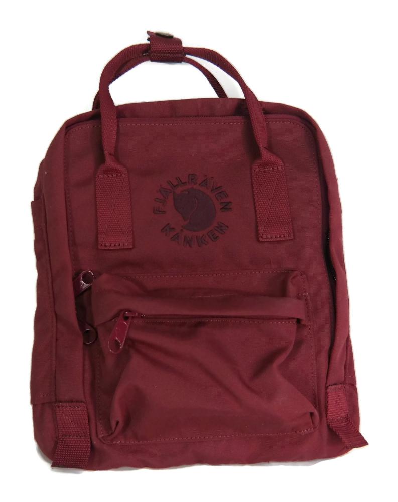 86e7d417c12fe Fjallraven Re-Kanken Mini Backpack Ox Red 7L 7323450260248