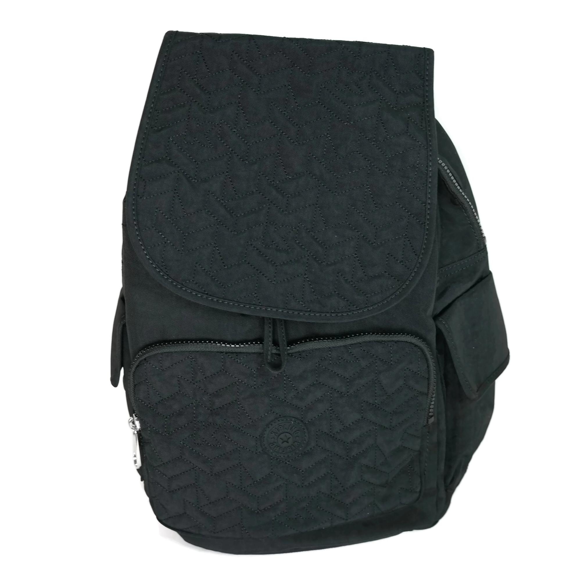 6073f543a Details about Kipling Women's Ravier Medium Backpack One Size, Black, BP4072