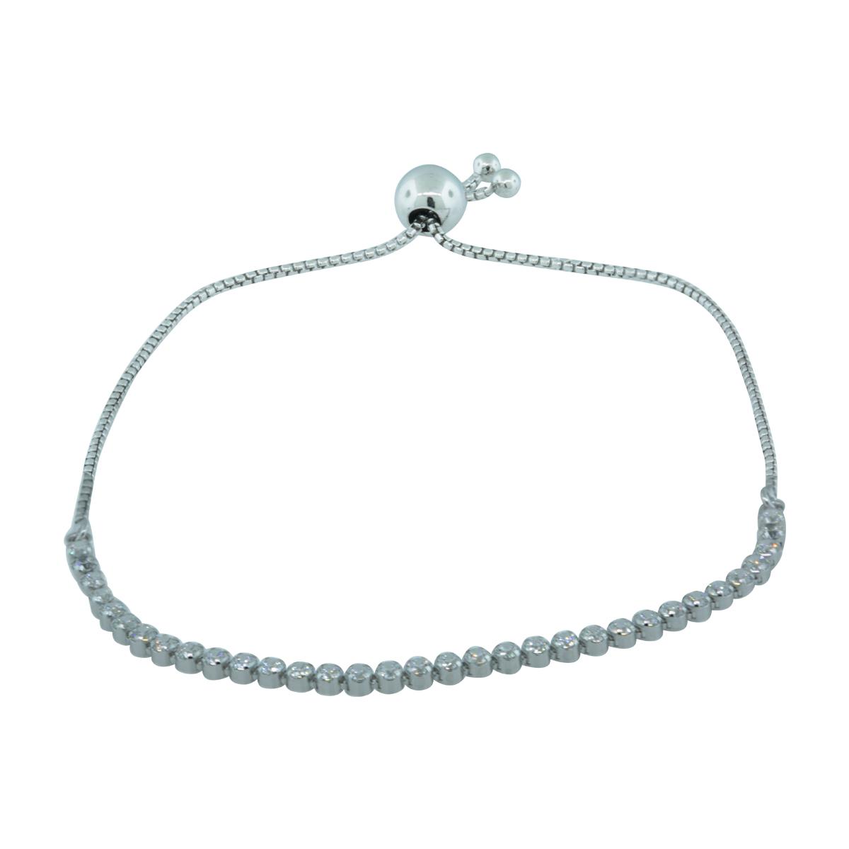 f7d5ef939 Details about Authentic Pandora Sparkling Strand Bracelet, Clear CZ, 9.1  in, 590524CZ-1